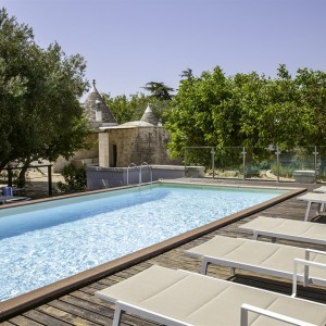 Trulli for sale in Fasano with pool